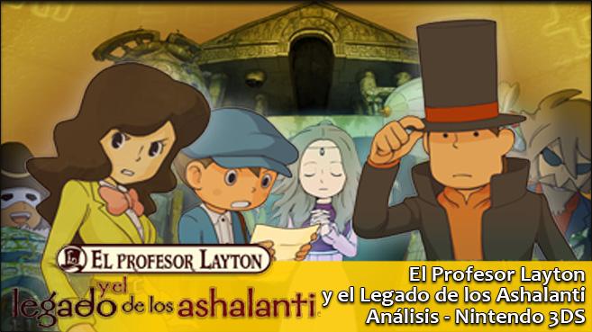 Resultado de imagen de El Profesor Layton y el Legado de los Ashalanti
