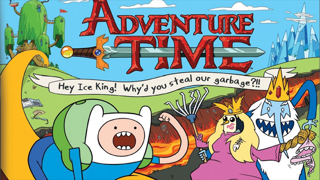 Adventure Time Hey Ice King!