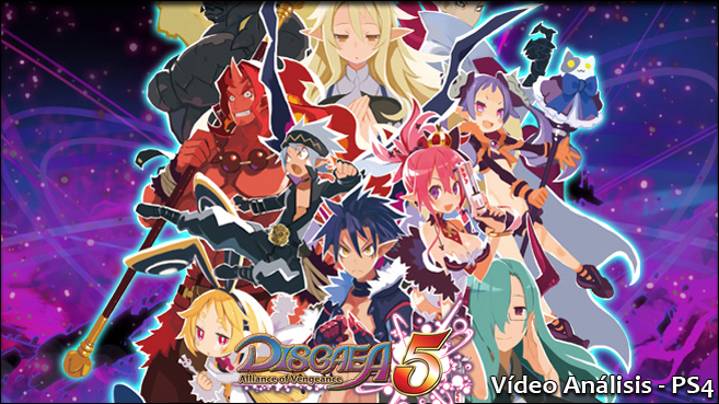 Disgaea 5 Alliance of Vengeance