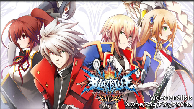 Blazblue Chronophantasma Extended