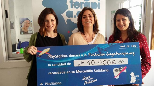 Mercadillo Solidario PlayStation