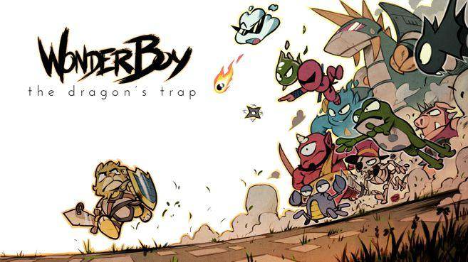 Wonder Boy The Dragon's Trap Principal