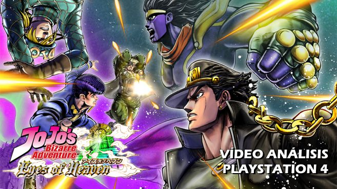 JoJo�s Bizarre Adventure Eyes of Heaven