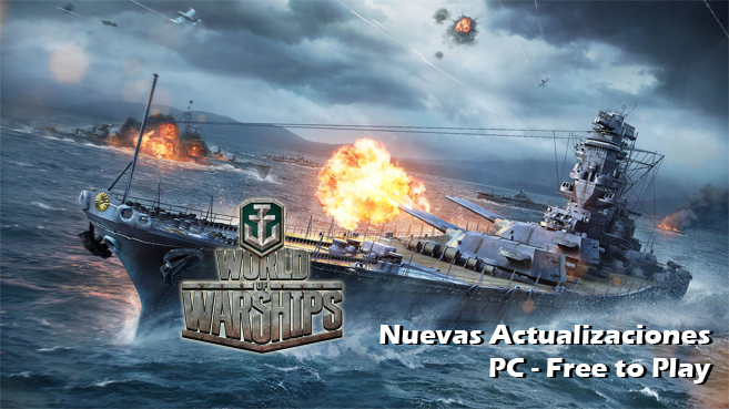 World of Warships (Actualizaciones)