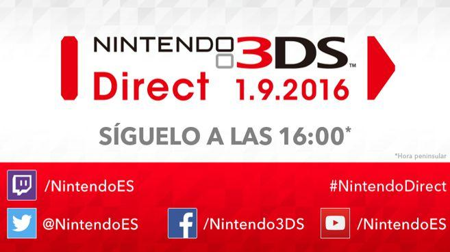 Nintendo 3DS Direct Principal