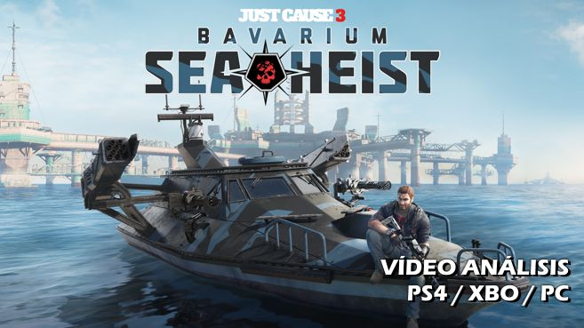 Cartel Just Cause 3 Bavarium Sea Heist