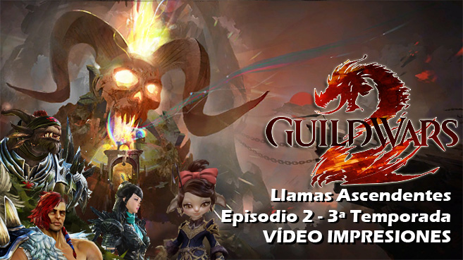 Guild Wars 2 Llamas Ascendentes