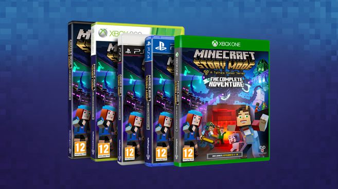 Minecraft Story Mode - The Complete Adventure Principal