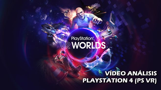 Cartel PlayStation VR Worlds