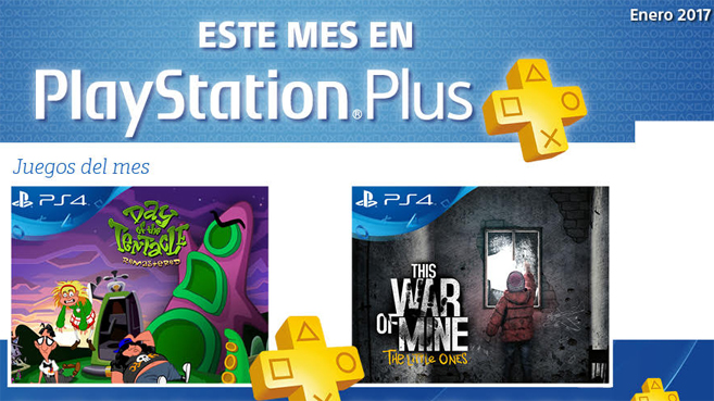 PlayStation Plus Enero 2017