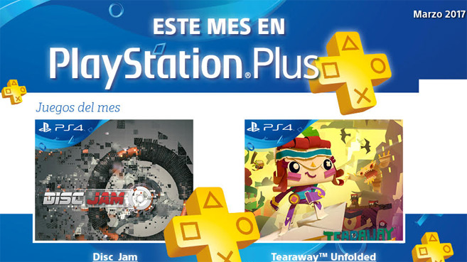 PS Plus marzo 2017