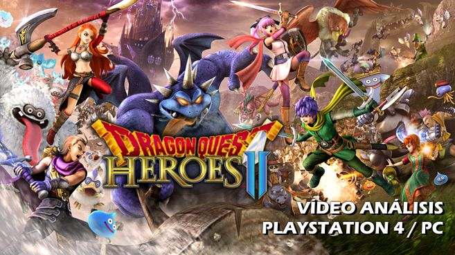 Cartel Dragon Quest Heroes II