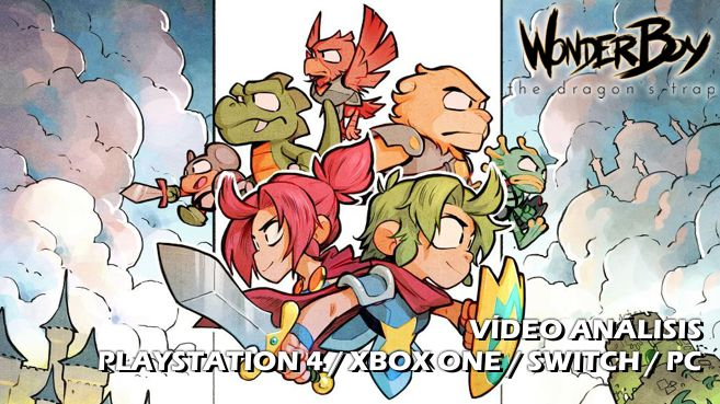 Vídeo análisis de Wonder Boy The Dragon