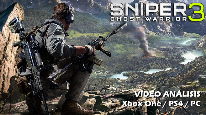 Vídeo análisis de Sniper Ghost Warrior 3