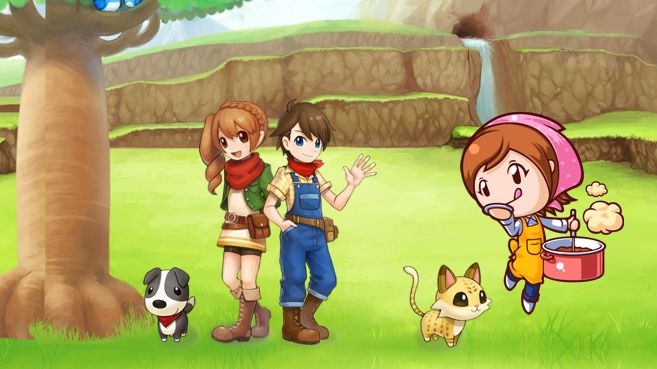 Cooking Mama y Harvest Moon Principal