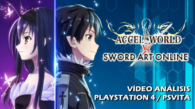 Vídeo análisis de Accel World Vs Sword Art Online