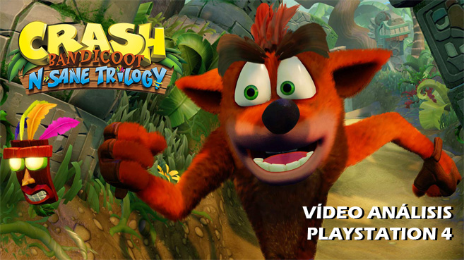 Vídeo análisis de Crash Bandicoot N. Sane Trilogy