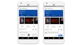 Google Feed screen smartphone