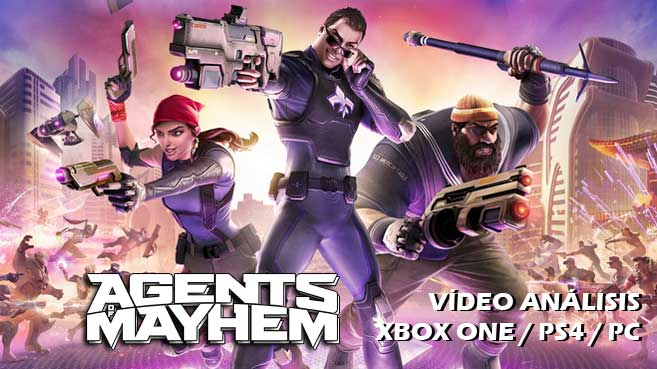 Vídeo análisis de Agents of Mayhem