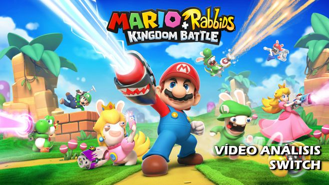Cartel Mario + Rabbids Kingdom Battle