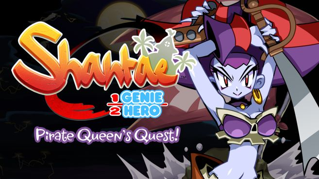 Shantae Half-Genie Hero - Pirate Queen´s Quest Principal