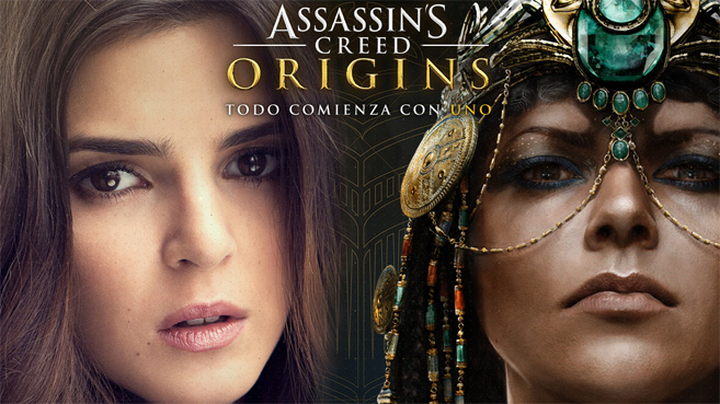 Clara Lago Cleopatra Assassin's Creed Origins