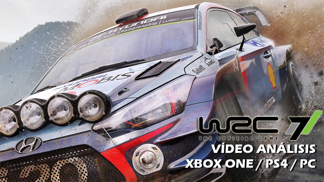 Vídeo análisis de WRC 7 FIA World Rally Championship