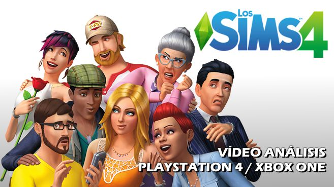 Vídeo análisis de Los Sims 4 para PlayStation 4 y Xbox One