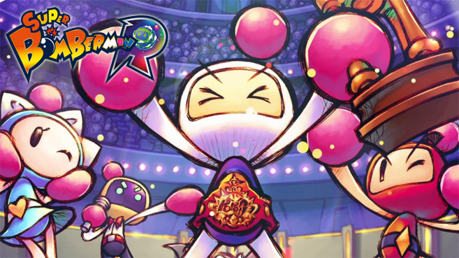 Super Bomberman R Grand Prix