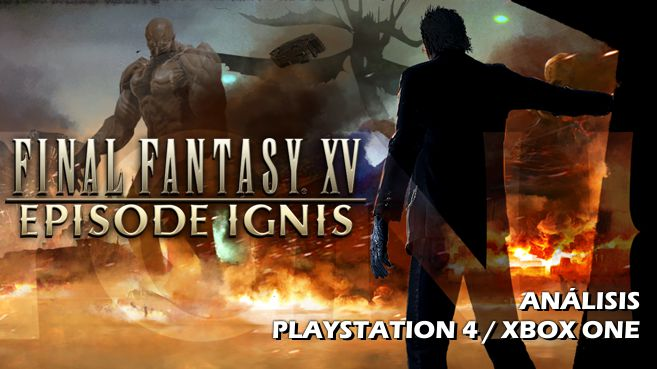 Cartel Final Fantasy XV Episode Ignis