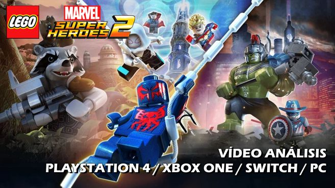 Cartel LEGO Marvel Super Heroes 2