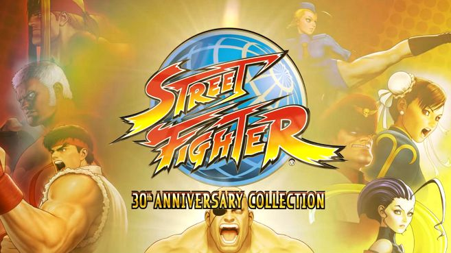Street Fighter 30th Anniversary Collection Principal