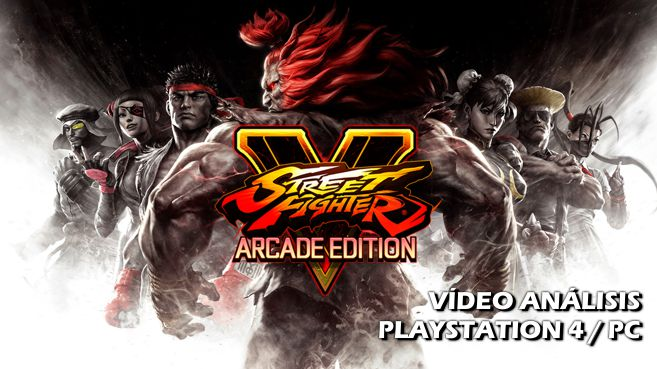Vídeo análisis de Street Fighter V: Arcade Edition
