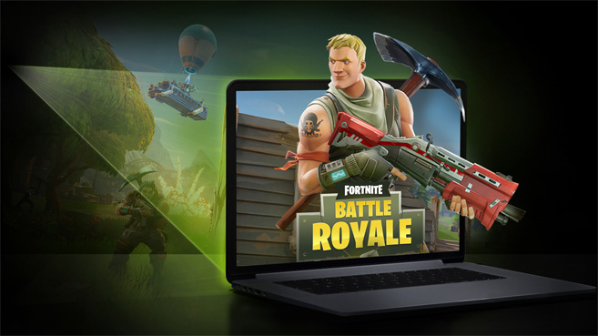 GeForce NOW Fortnite Battle Royale