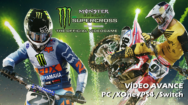 Vídeo avance de Monster Energy Supercross