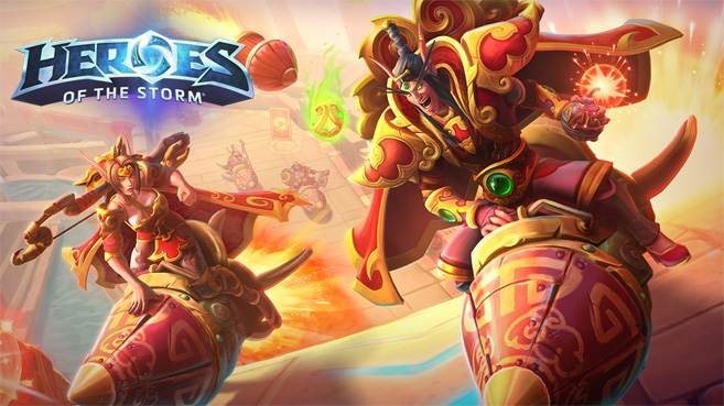 Heroes of the Storm Festival Lunar