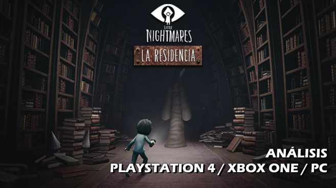Cartel Little Nightmares - La Residencia