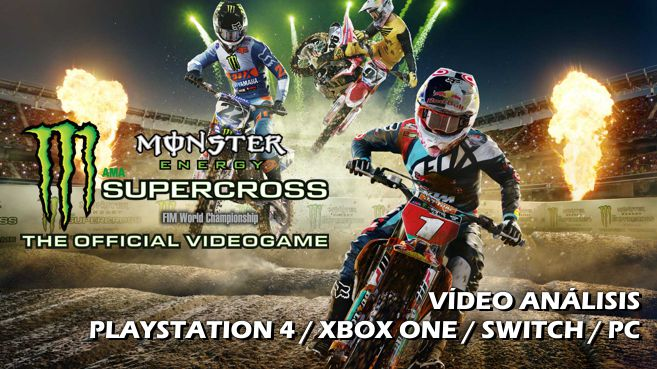 Vídeo análisis de Monster Energy Supercross: The Official Videogame