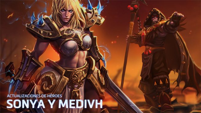Heroes of the Storm Sonya y Medivh
