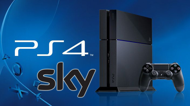 Sky llega a PS4