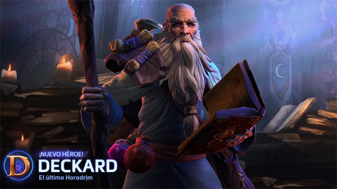 Deckard Caín Heroes of the Storm