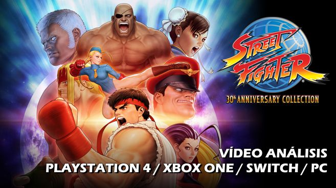 Vídeo análisis de Street Fighter 30th Anniversary Collection