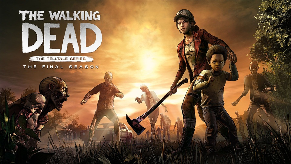 The Walking Dead La temporada final Principal