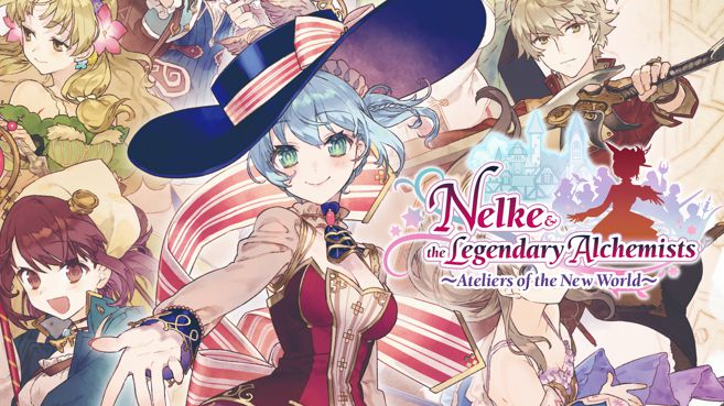 Nelke & the Legendary Alchemists Ateliers of the New World Principal