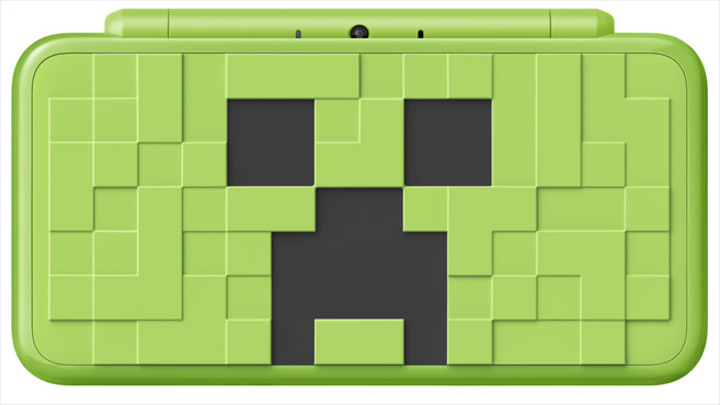 New Nintendo 2DS XL Creeper Edition