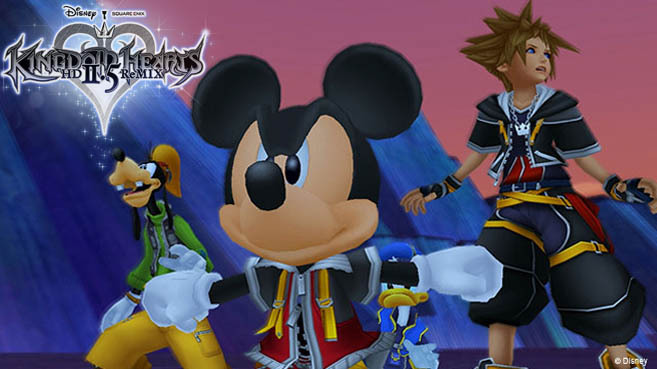 Kingdom Hearts HD 2.5 ReMIX - Avance