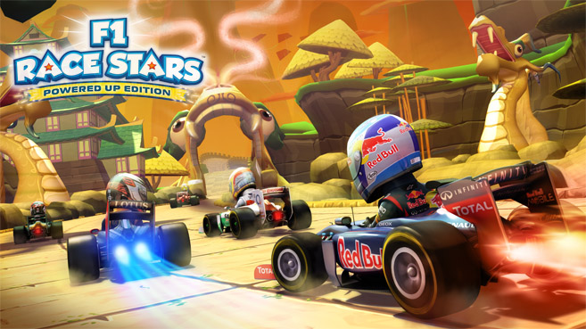 F1 Race Stars Powered Up Edition ya disponible en Wii U