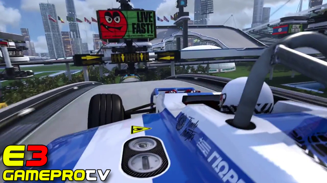 Trackmania Turbo (E3 2005)