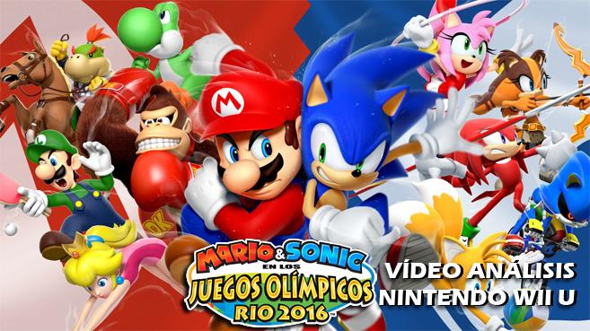 Video Analisis De Mario Sonic En Los Juegos Olimpicos Rio 2016