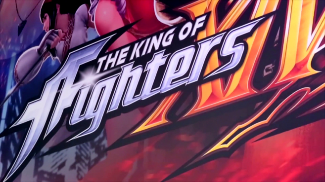 The King of Fighters XIV Gamescom